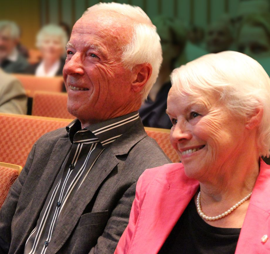 Heinz und Ingrid von Matthey